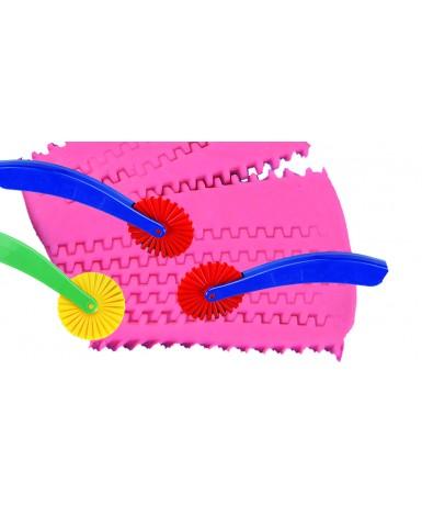 Cortadores plastilina con dientes 9...
