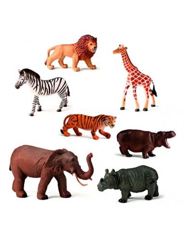 Bote selva - 7 animales