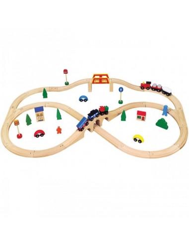 Tren en 8