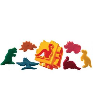 Multimoldes dinosaurios - 6 figuras