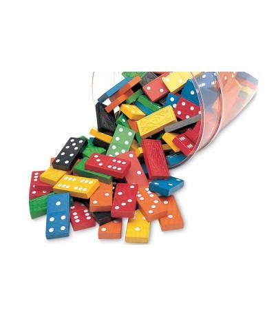 6 dominós colores