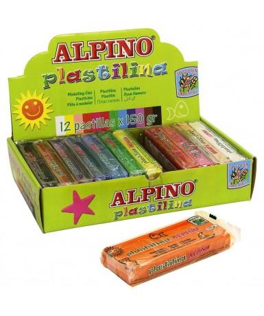 Alpino plastilina 150 g. - 12 colores