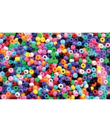Cuentas plástico - 1000 unidades