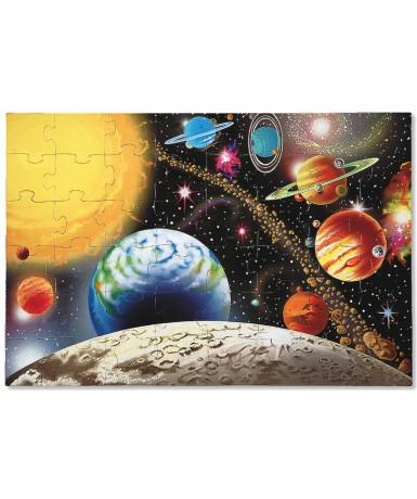 Puzle jumbo sistema solar 48 piezas