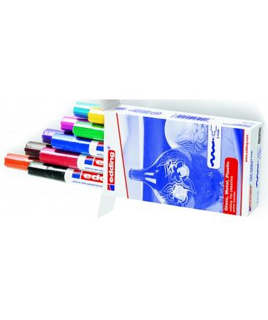 Rotulador edding 750 - 10 colores