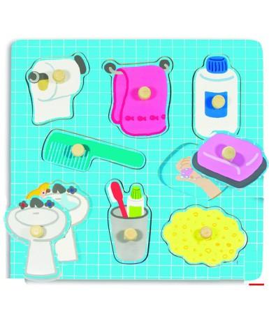 Encaje baño 8 piezas