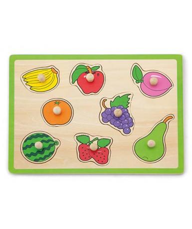 Encaje 8 frutas