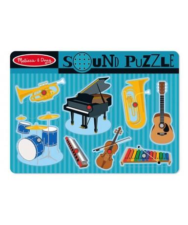 Encaje sonidos instrumentos musicales...