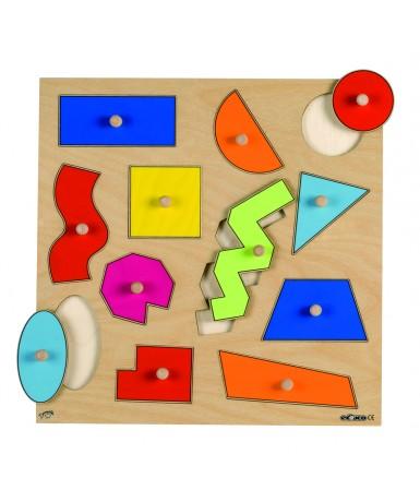 Encaje 12 formas