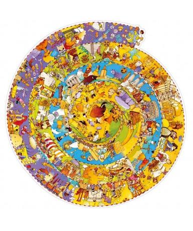 Puzle espiral historia 350 piezas
