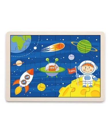 Puzle 24 piezas viaje al espacio