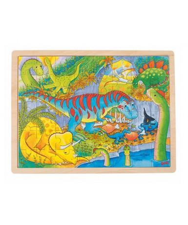 Puzle 48 piezas dinosaurios