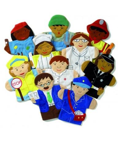 Los oficios - 10 marionetas