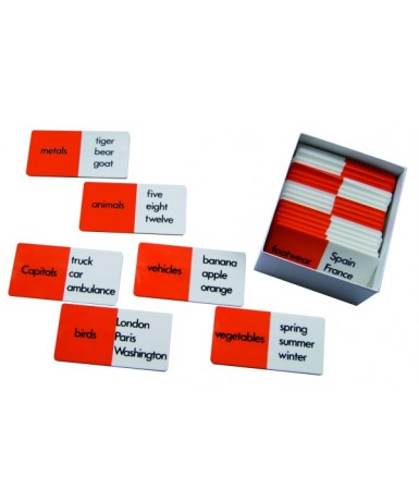 Inglés_Classification dominoes/t806