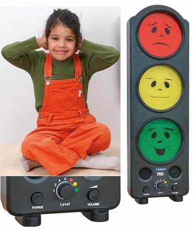 Semáforo control sonido