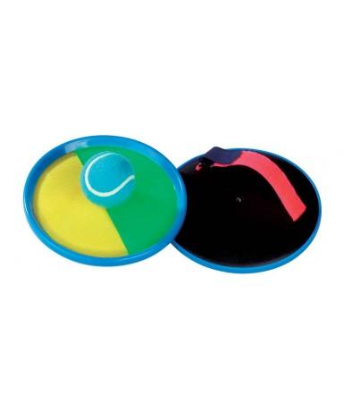 Juego pelota velcro