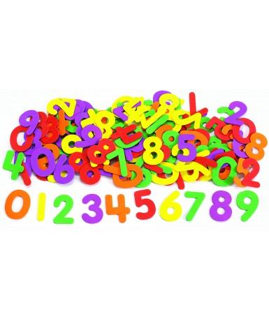 Números goma eva - 150 piezas