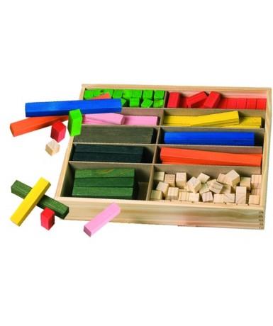 Regletas de madera 2x2