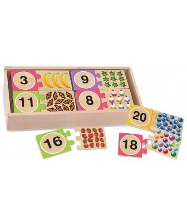 Puzle numérico 1-20