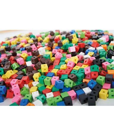 1000 cubos interlocking 1 cm.