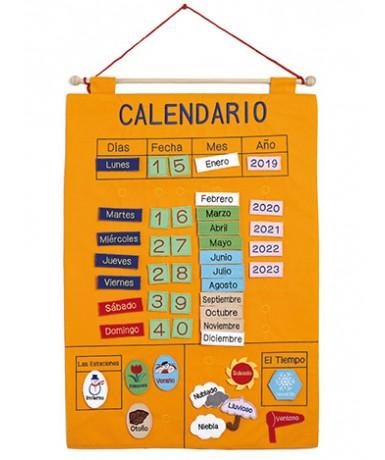 Calendario fieltro