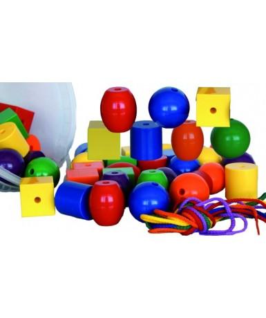 Ensartes gigantes, 48 piezas