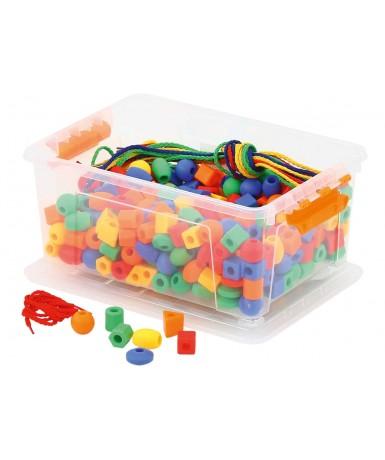 Caja de ensartes - 360 piezas