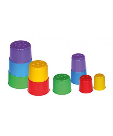 Cubos apilables