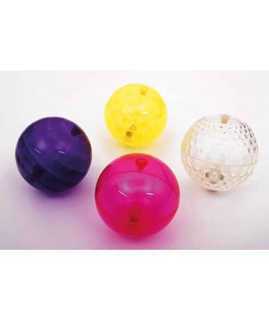 4 pelotas con luz
