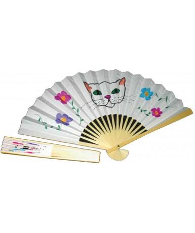 12 abanicos papel para decorar