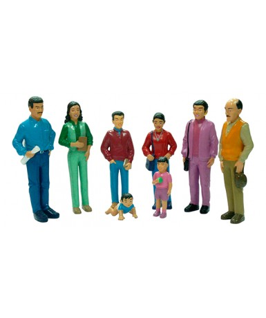 Familia lationamericana (8 un.)