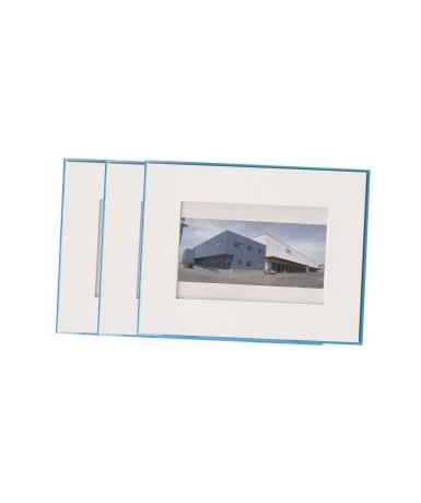 Marco cartón rectangular - 5 unidades