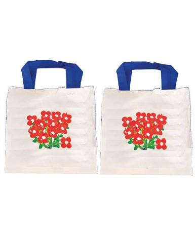 6 bolsas mini de tela para decorar...