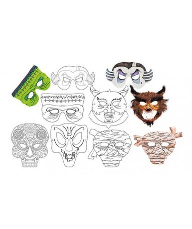 6 máscaras de terror para decorar