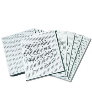 Cartones perforados para coser - 40...