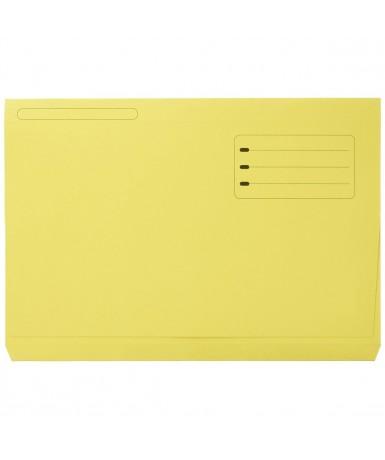 Subcarpeta pocket bolsa amarilla