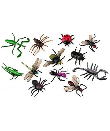Bote insectos- 12 figuras