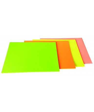 Cartulinas fluorescentes Din-A4 - 50...