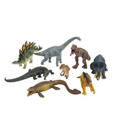 Dinosaurios- 8 figuras