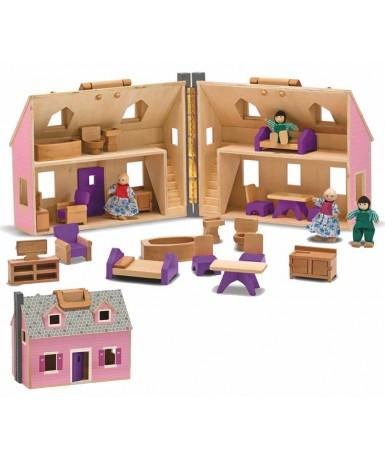 Casa muñecas 34x27x18