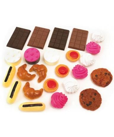 Dulces, 24 piezas.