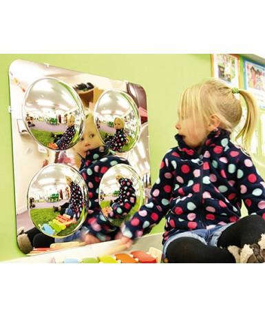 4 espejos convexos