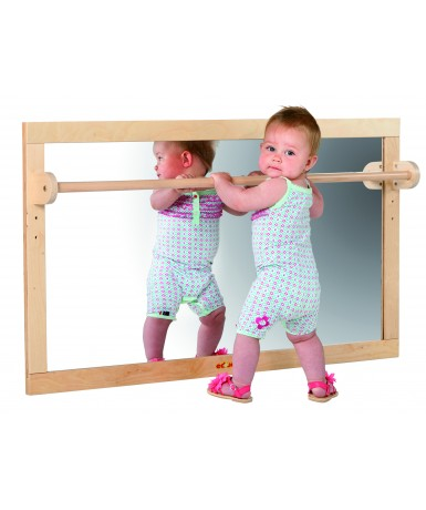 Espejo con barra- 127x69 cm.