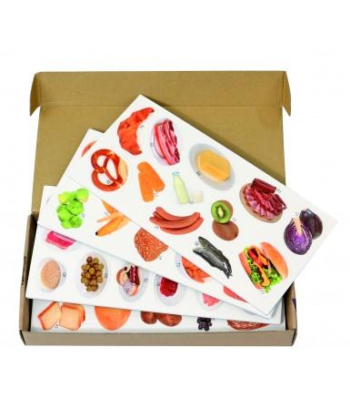 Piramide alimentos magnetica