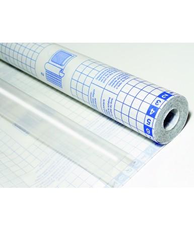 Plástico adhesivo rollo 20x0.50 m.