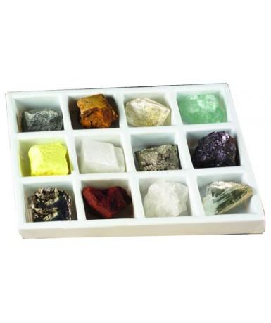 Minerales- 12 unidades