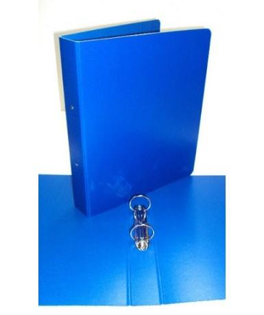 5 Carpeta colores anillas 40 mm. Azul...
