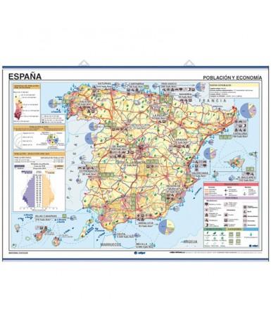 Mapa España temática...