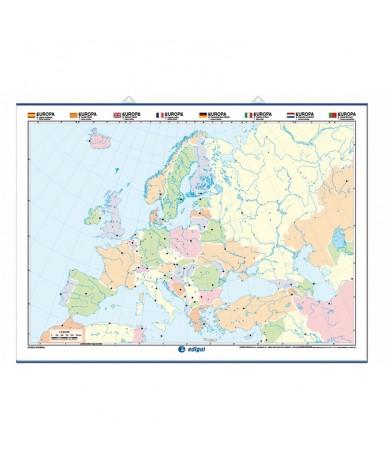 Mapa Mudo. Europa Físico-Político....