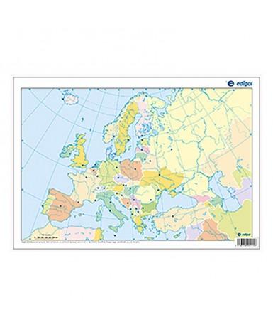 Mapa Mudo Alumno. Europa Político....